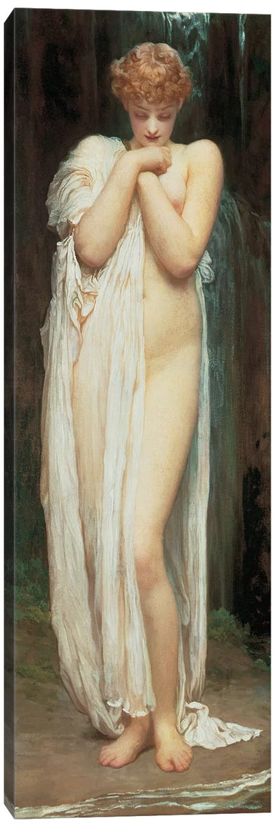 Crenaia, The Nymph Of The Dargle Canvas Art Print