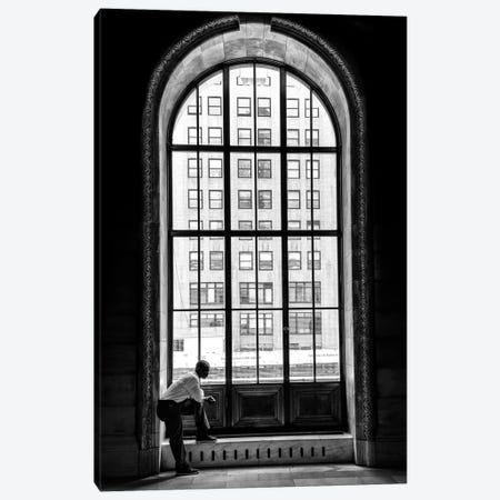 A Lonely Man 3-Piece Canvas #LTT1} by Massimo Della Latta Canvas Art
