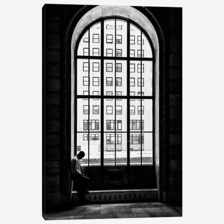 Lonely Man Canvas Print #LTT4} by Massimo Della Latta Art Print