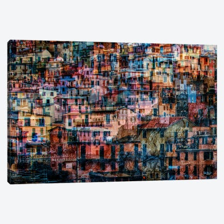 Manarola 1 Canvas Print #LTT8} by Massimo Della Latta Canvas Artwork