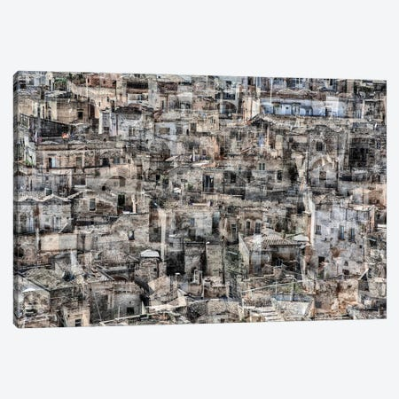 Matera Canvas Print #LTT9} by Massimo Della Latta Canvas Artwork