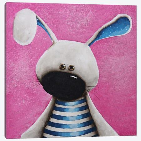 The Blue Bunny Canvas Print #LUC2} by Lucia Stewart Canvas Art Print