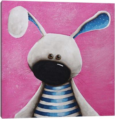 The Blue Bunny Canvas Art Print