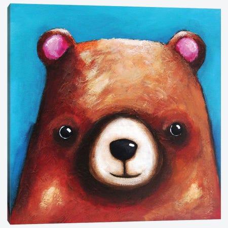 The Brown Bear Canvas Print #LUC3} by Lucia Stewart Canvas Print