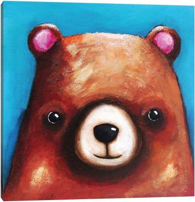 The Brown Bear Canvas Art Print
