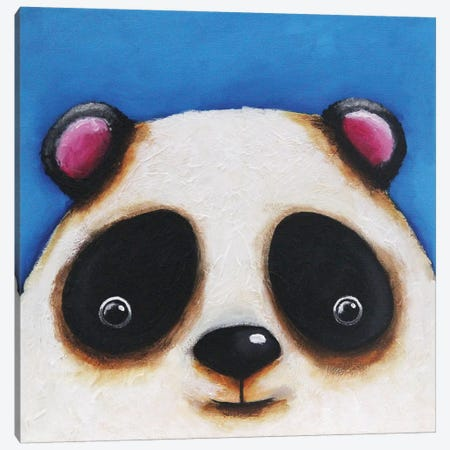 The Panda Bear Canvas Print #LUC4} by Lucia Stewart Canvas Art