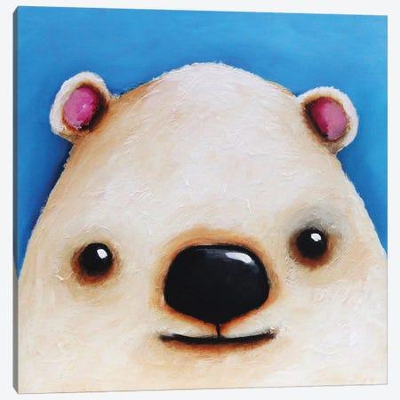 The Polar Bear Canvas Print #LUC6} by Lucia Stewart Canvas Wall Art