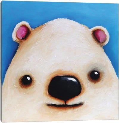 The Polar Bear Canvas Art Print