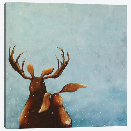 Friends Canvas Print #LUC7} by Lucia Stewart Canvas Wall Art