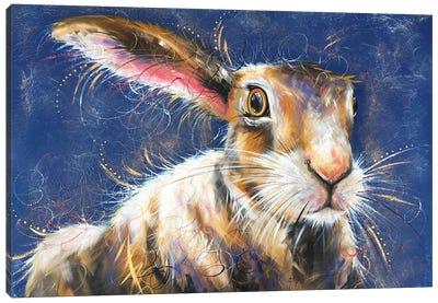 Hare Stare Canvas Art Print