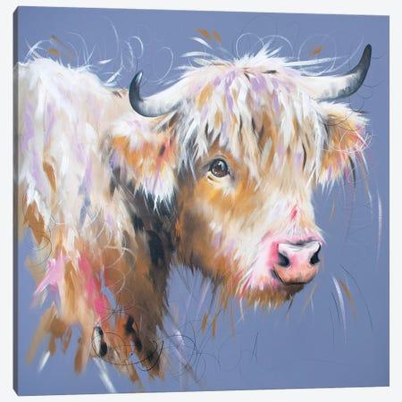 Hetty Highland Canvas Print #LUG13} by Louise Green Canvas Print
