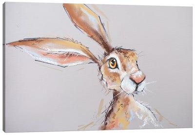 Little Brown Hare Canvas Art Print