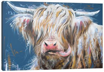 Nice To Meet Moo Canvas Art Print