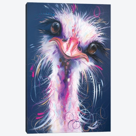 A Friendly Face Canvas Print #LUG1} by Louise Green Canvas Print
