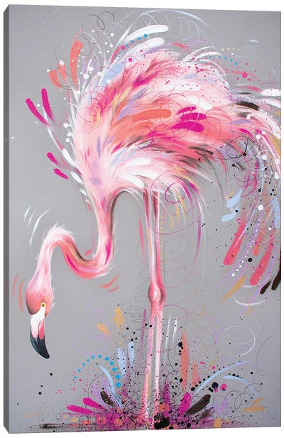 Pretty In Pink Canvas Art Print