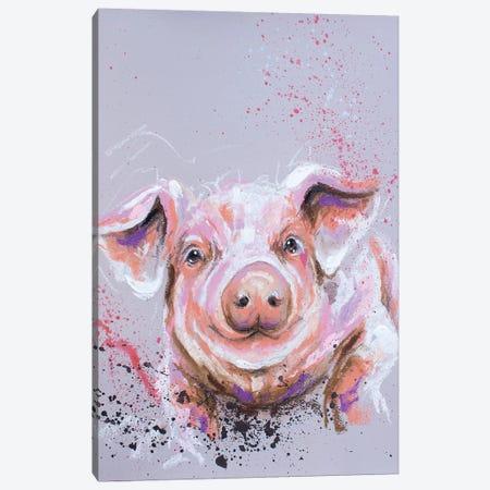 This Little Piggy Canvas Print #LUG24} by Louise Green Canvas Print