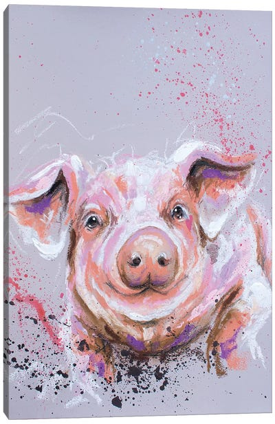 This Little Piggy Canvas Art Print