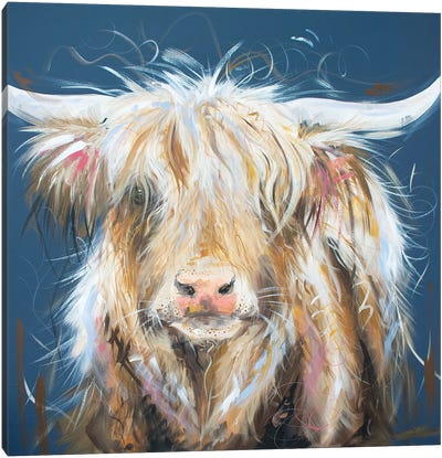 What Moo Looking At Canvas Art Print