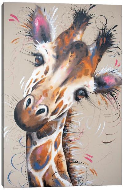 Gerald Giraffe Canvas Art Print