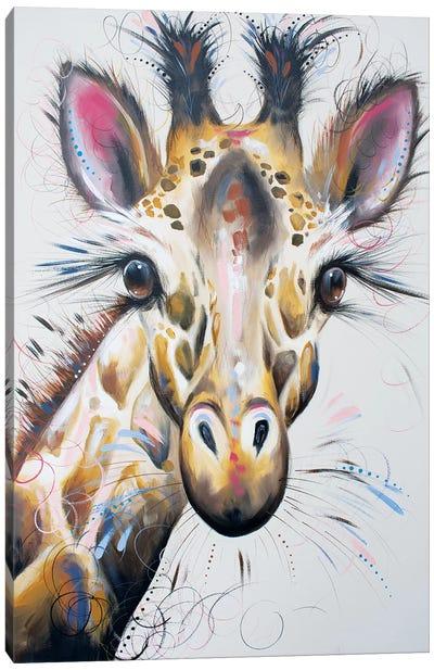 Gerry Giraffe Canvas Art Print