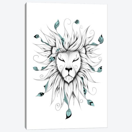 Poetic King Canvas Print #LUJ10} by LouJah Canvas Wall Art
