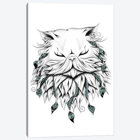 Poetic Persian Cat Canvas Print #LUJ15} by LouJah Canvas Art Print