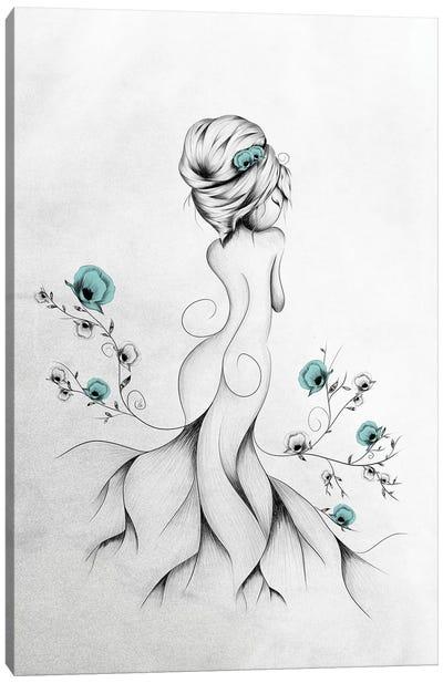 Poppy Poem Canvas Art Print