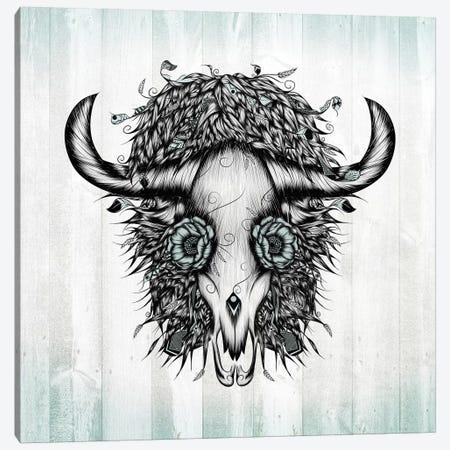 The Spirit Of the Buffalo Canvas Print #LUJ23} by LouJah Canvas Art Print