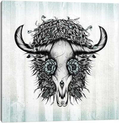 The Spirit Of the Buffalo Canvas Art Print