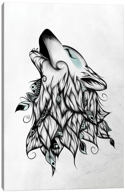 The Wolf Canvas Art Print
