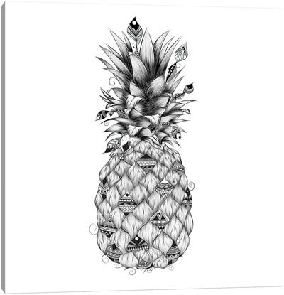 Ananas Canvas Art Print