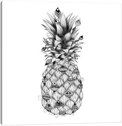 Ananas Canvas Art Print