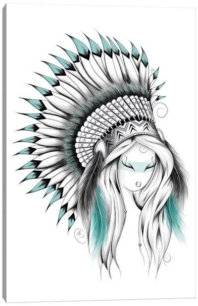 Indian Headdress Canvas Art Print