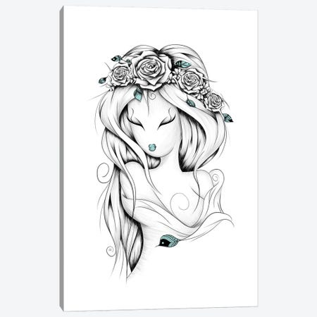 Poetic Gypsy Canvas Print #LUJ6} by LouJah Canvas Art Print