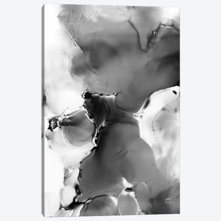 Grey Wolf Canvas Print #LUL26} by LouLouArtStudio Canvas Art
