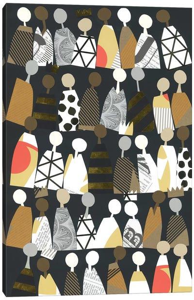 Multicultural Unity Canvas Art Print
