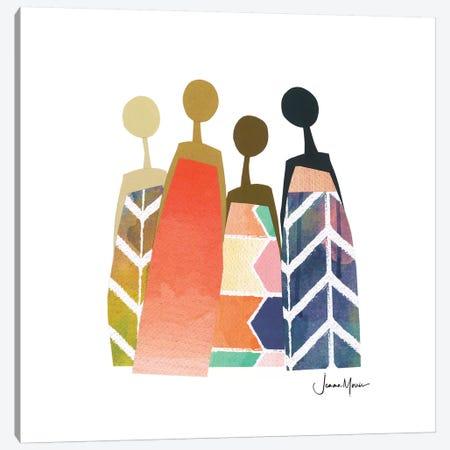 Rainbow Friends Canvas Print #LUL45} by LouLouArtStudio Canvas Artwork