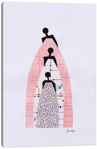 Standing On The Shoulders Of Our Ancestors Canvas Art Print