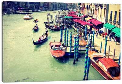 Colors Of Venice Canvas Art Print