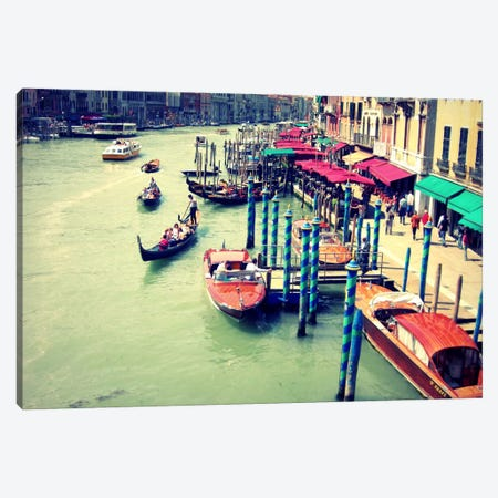 Colors Of Venice Canvas Print #LUP10} by Lupen Grainne Canvas Wall Art
