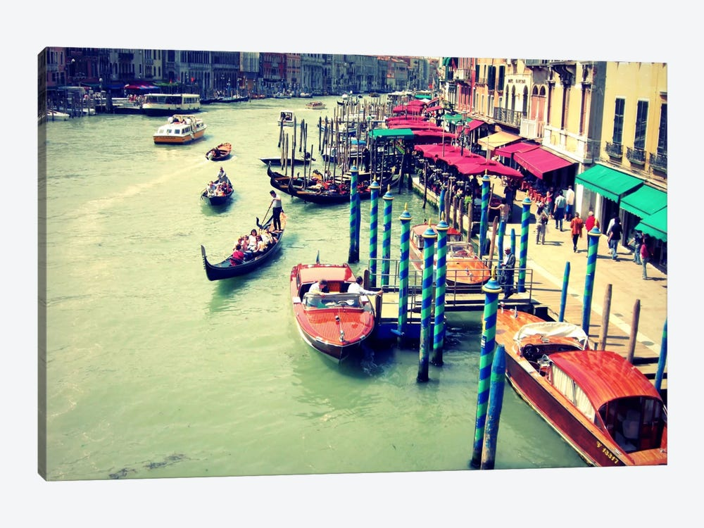 Colors Of Venice by Lupen Grainne 1-piece Canvas Artwork