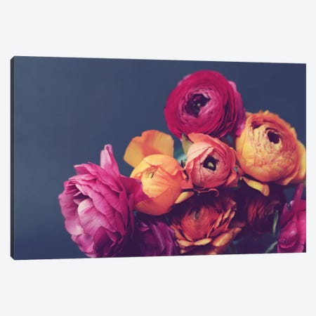 Deep Blooms Canvas Print #LUP13} by Lupen Grainne Canvas Art