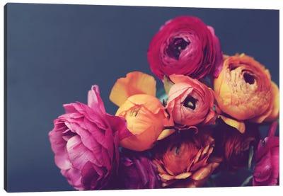 Deep Blooms Canvas Art Print