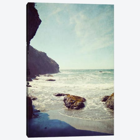 End Of The Beach Canvas Print #LUP15} by Lupen Grainne Art Print