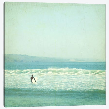 Sunday Surf Canvas Print #LUP28} by Lupen Grainne Art Print