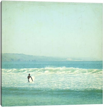 Sunday Surf Canvas Art Print