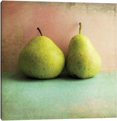 Two Pears Canvas Art Print