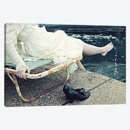 Poolside Canvas Print #LUP47} by Lupen Grainne Canvas Art