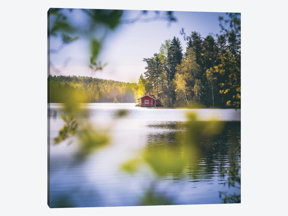 Summer Cottage by Lauri Lohi 1-piece Canvas Artwork