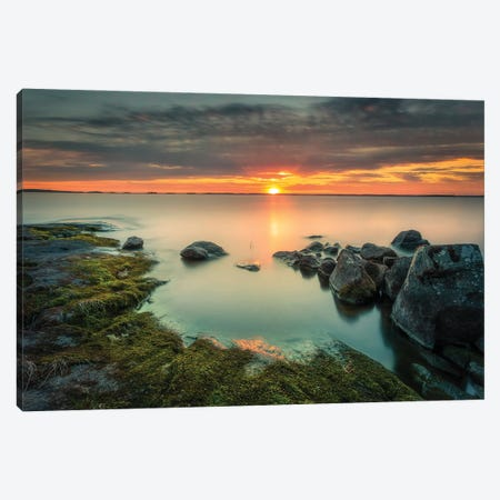 Last Rays Canvas Print #LUR118} by Lauri Lohi Canvas Art